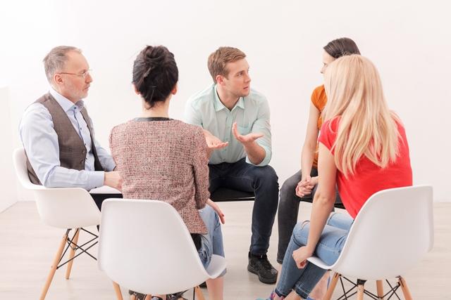 Raum für Gespräch und Weiterbildung für hochsensible Menschen