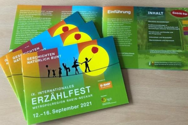 Bild zu Programm des IX. Internationalen Erzählfests erschienen
