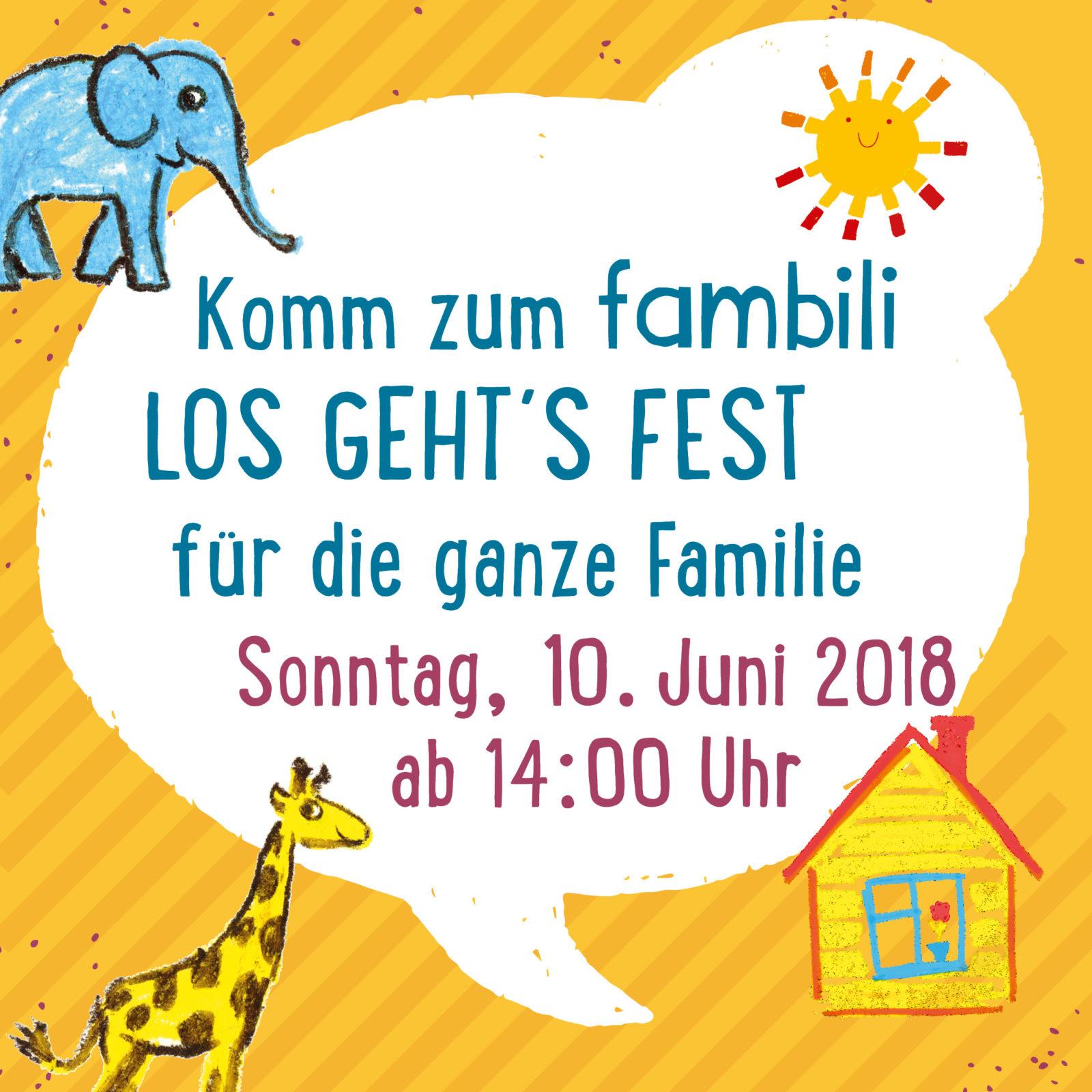 """""""Los-geht's-Fest"""" für die ganze Familie"""