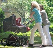 Fit ins Frühjahr – mit dem Kinderwagen in Bewegung