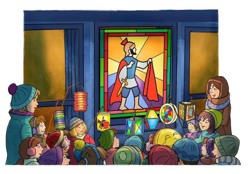 Heiliger Sankt Martin Geschichte